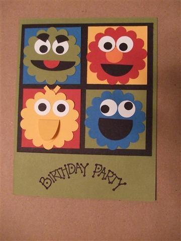 Sesame Street Invitation