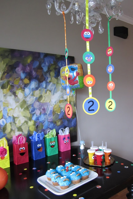 Sesame Street 2 Year old Party