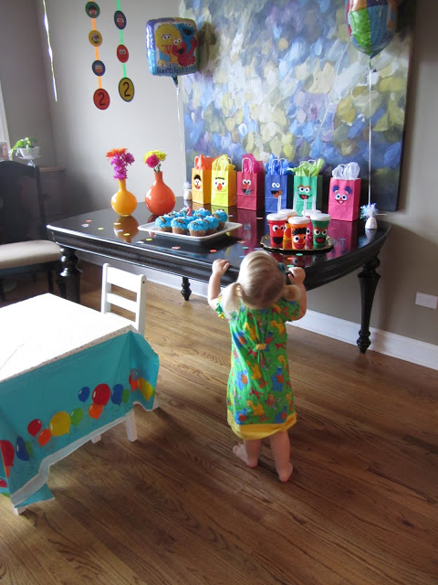 Sesame Street Party 2 Year Old