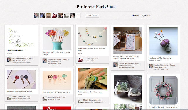 Pinterest Party How To
