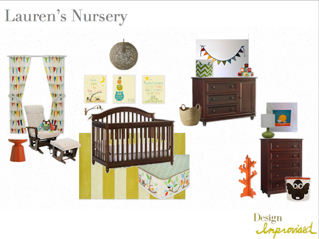 Owl / woodland nursery