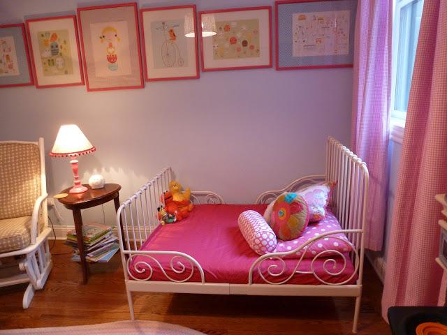 Girl bohemian nursery
