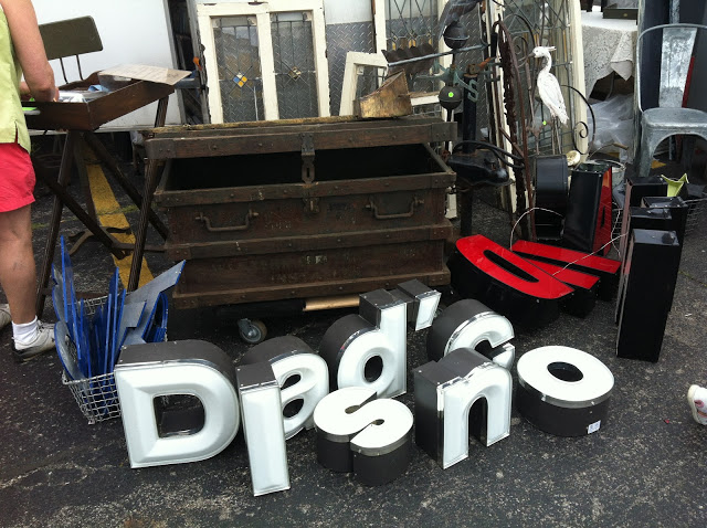 Old signage letters