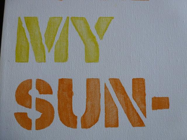DIY Typography Art Tutorial