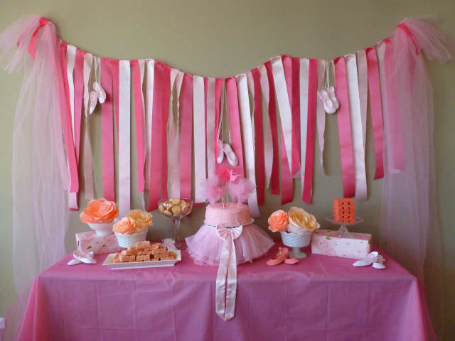 Ballerina-Party-Ribbon-Wall