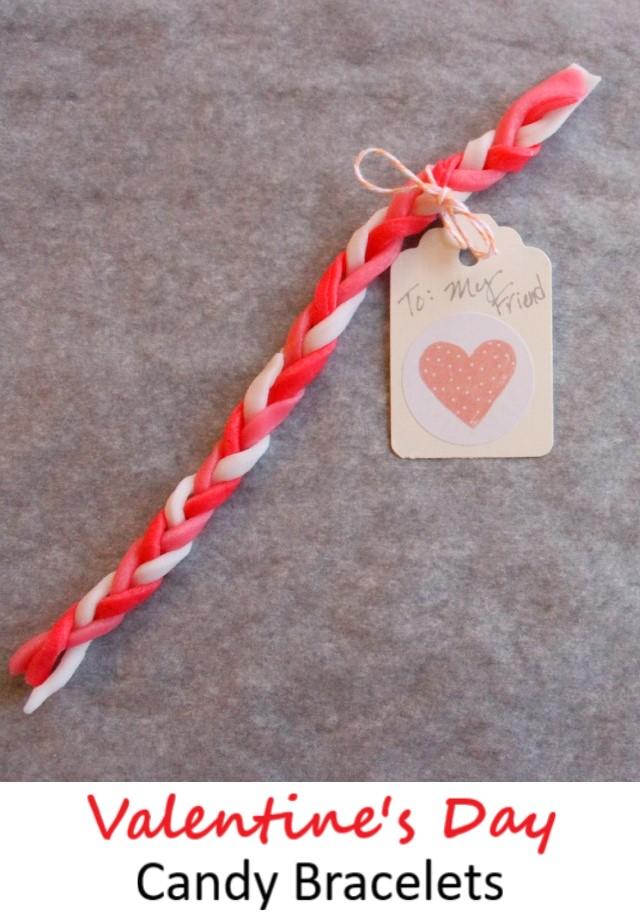 Valentines day candy bracelet