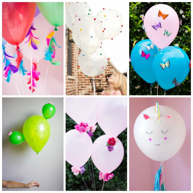 DIY Balloon Crafts Project Ideas from Design Improvised