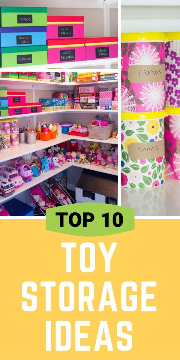 Top 10 Toy Storage Ideas