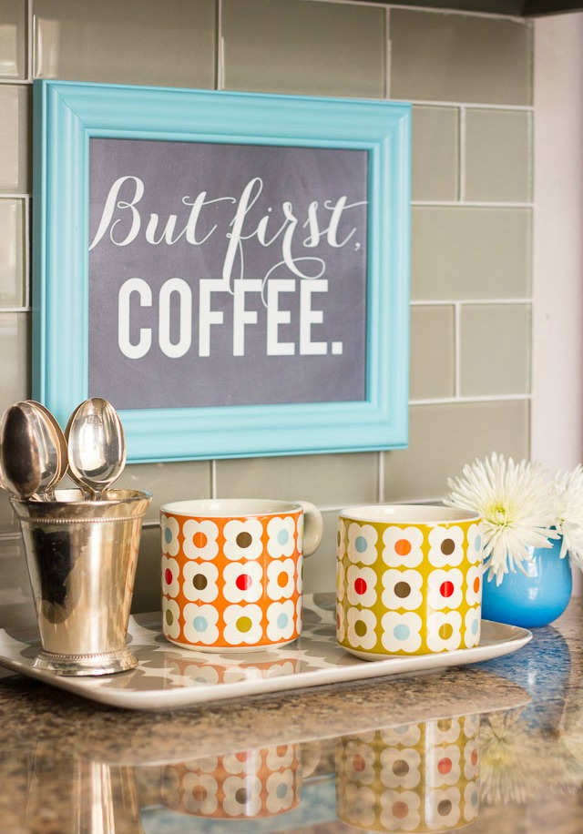 Create a Special DIY Coffee Station