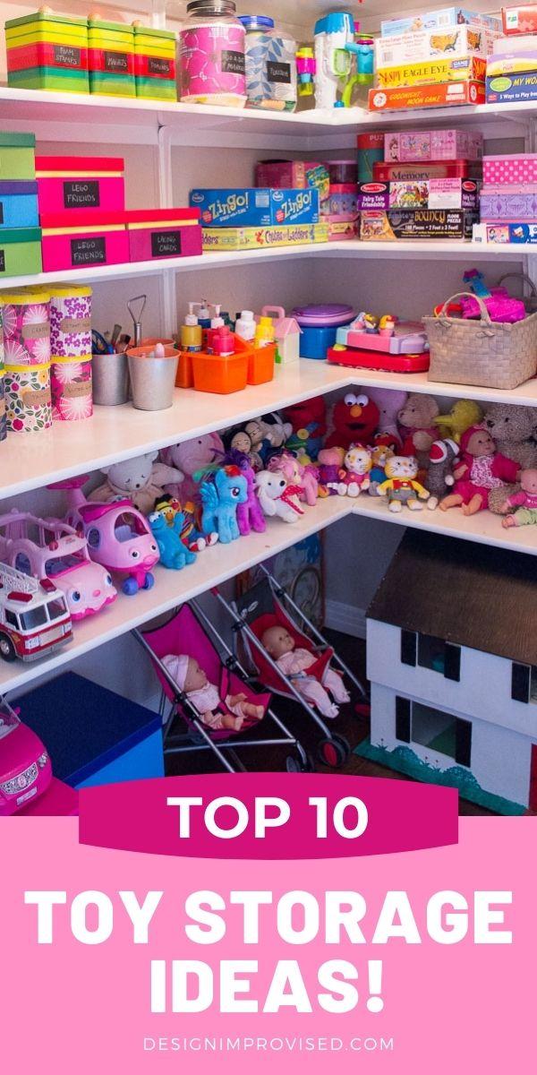 Easy toy storage ideas