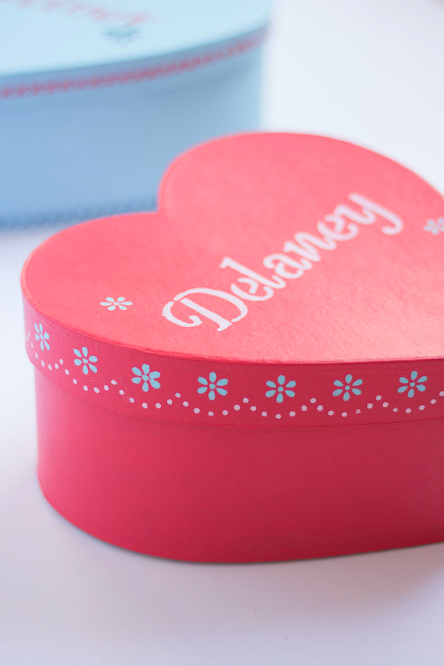 Personalized Valentine Gift Box