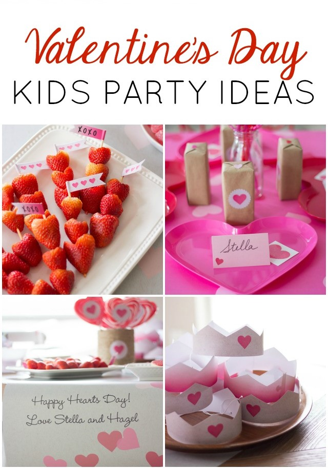 Happy Hearts Day! A Heart-Filled Kids Valentines Party