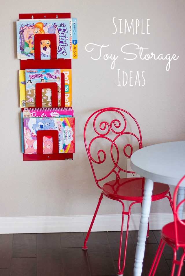 How to Organize Toys – 8 Clever Ideas!