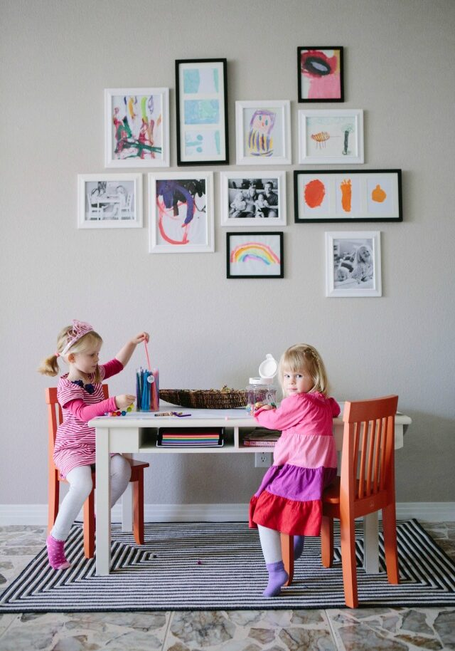A Kid-Friendly Living Room with Hayneedle.com