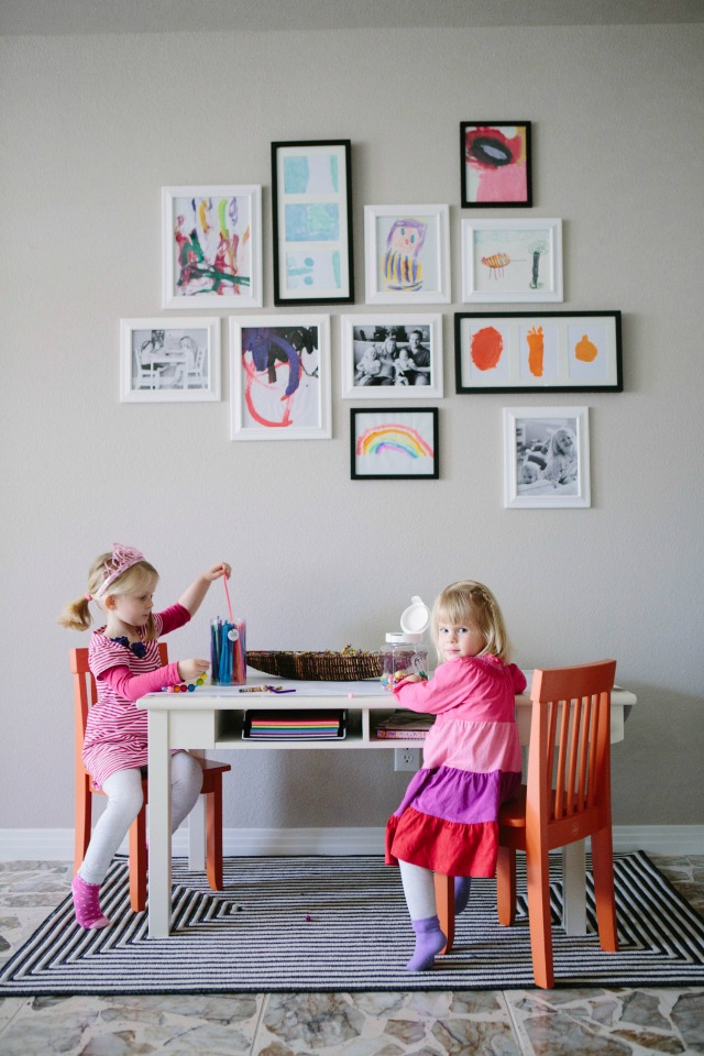 A Kid-Friendly Living Room with Hayneedle.com - Design ...