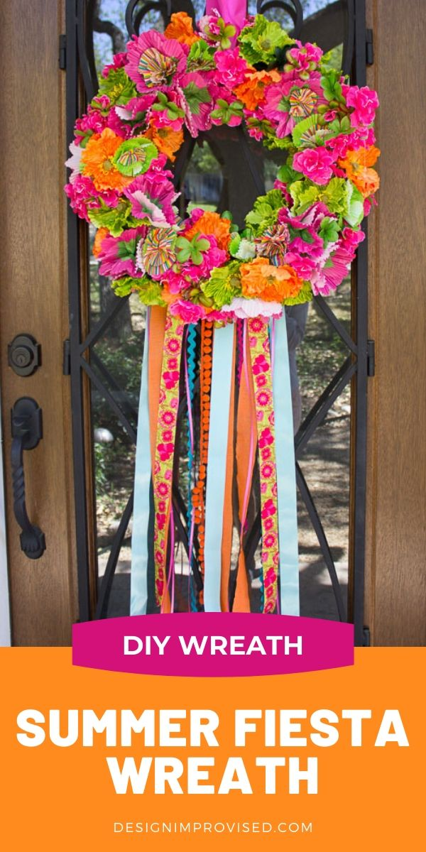 DIY Fiesta Wreath