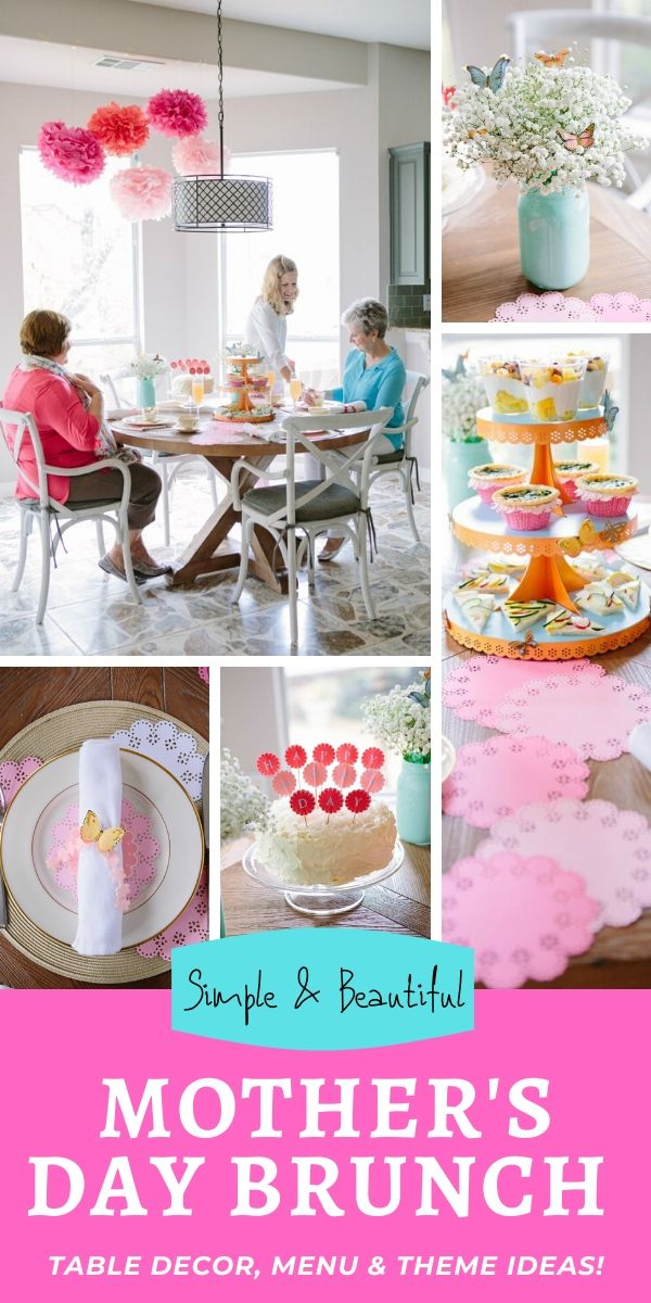 Mother's Day Brunch Ideas 2020