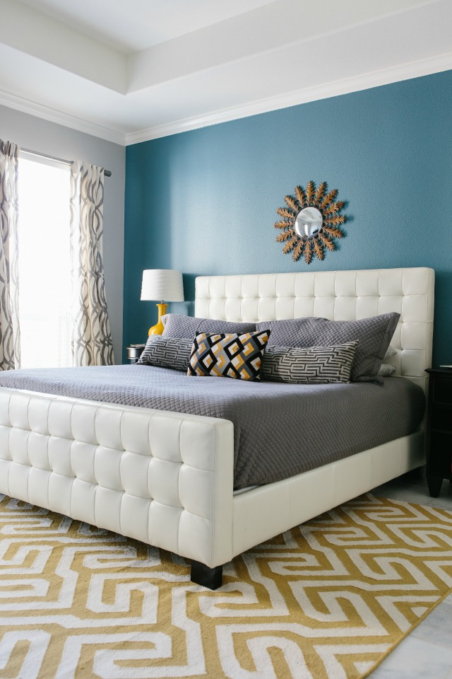 Master Bedroom Reveal with Minted!