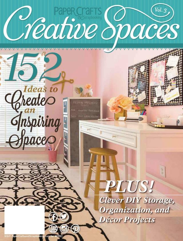 Creative Spaces magazine feature of Design Improvised office