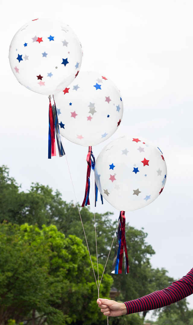 Easy DIY 4th of July Balloons!
