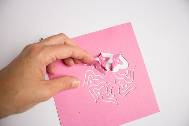 Martha Stewart cut and fold punch