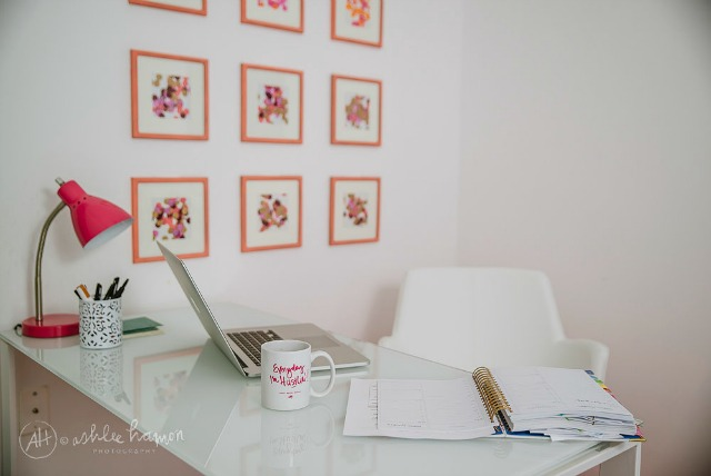 A Confetti-Filled Office Design! || The Flair Exchange Office