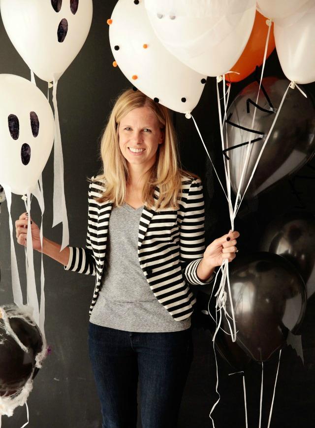 6 simple Halloween balloon ideas #halloweenballoons