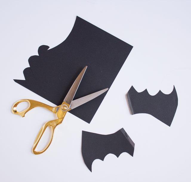 Halloween bat balloons
