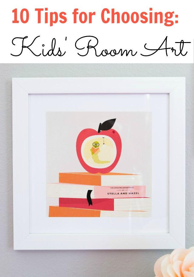 10 Tips for Choosing Kids Room Art