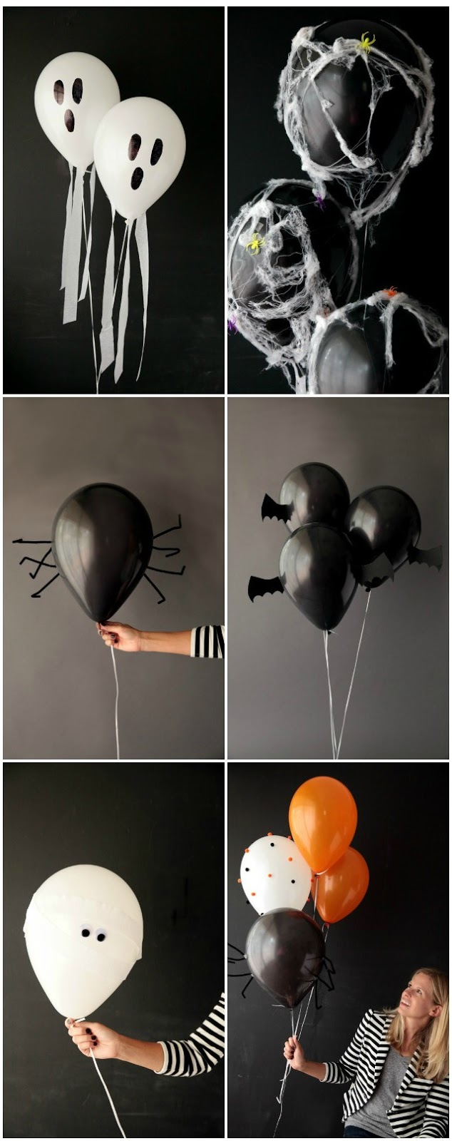 DIY Halloween Balloon Ideas