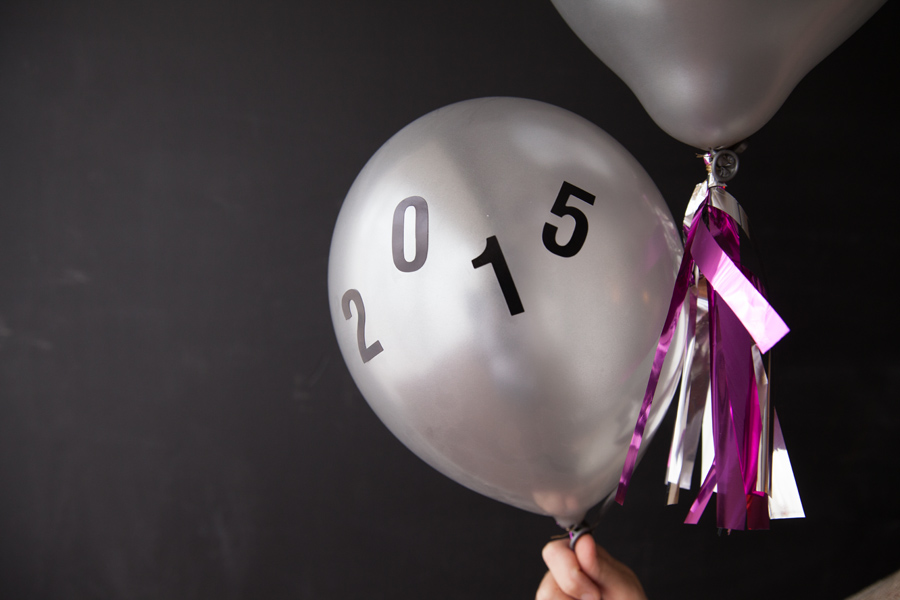 New Years Eve Balloons || www.designimprovised.com