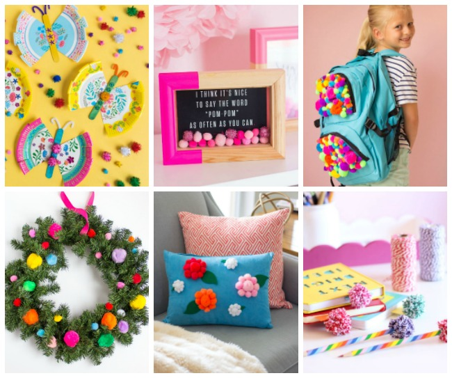 DIY Pom-Pom Craft Projects