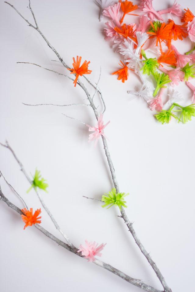 DIY flowering branches