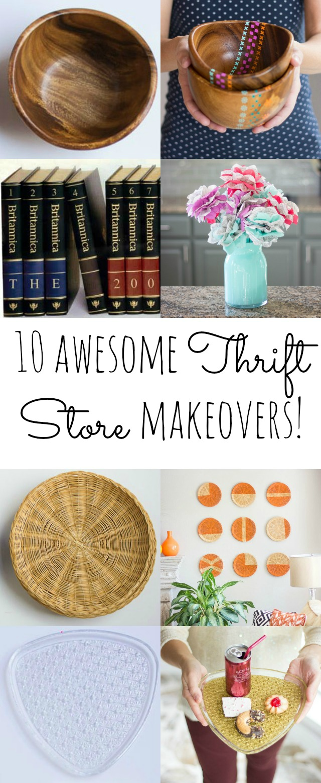 Awesome ways to transform common thrift store items!
