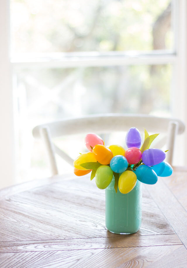 How to make an easter egg bouquet