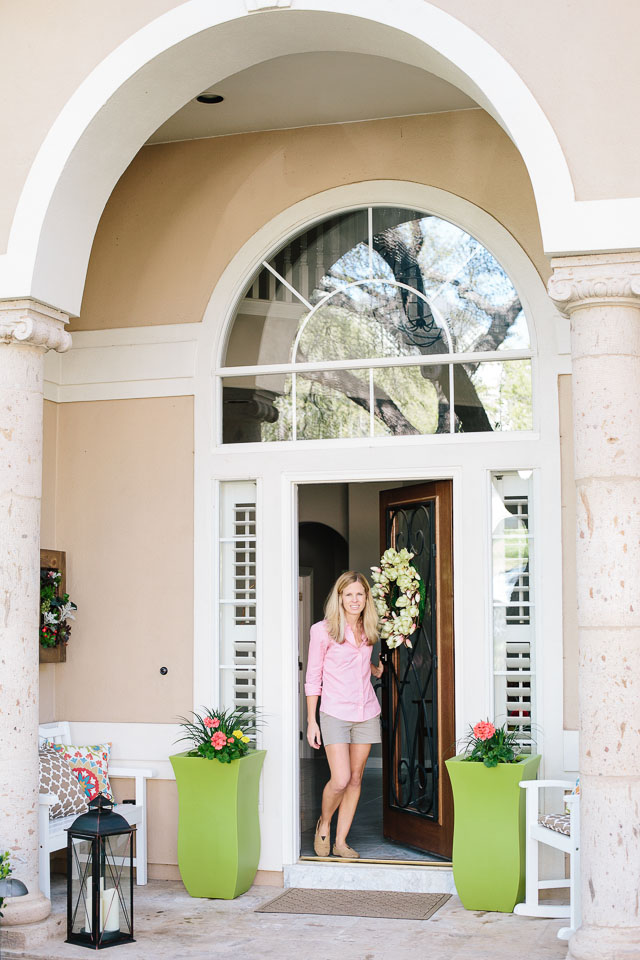 Spring Front Porch Makeover with Hayneedle.com
