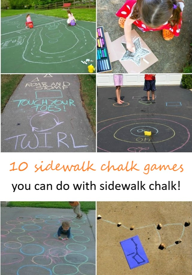 10 Sidewalk Games to Try This Summer!