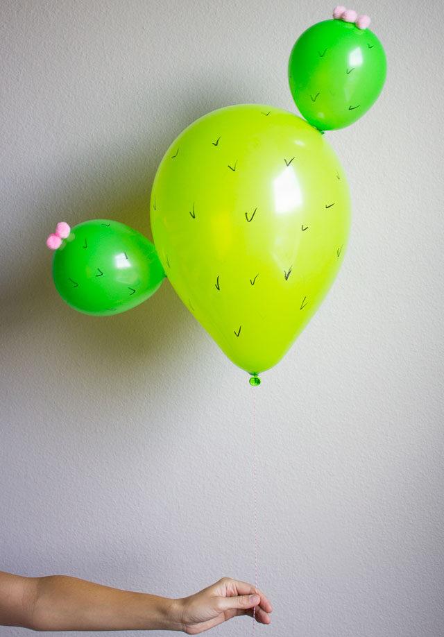 How to Make a Cactus Balloon