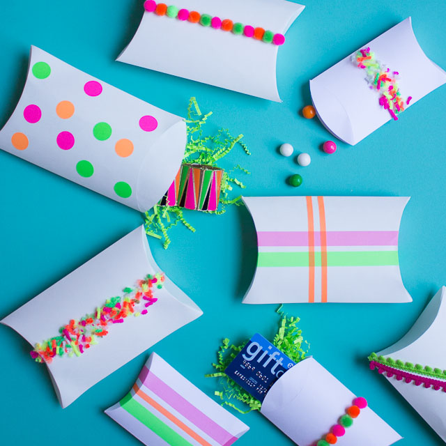 Easy ways to decorate a gift box with craft supplies