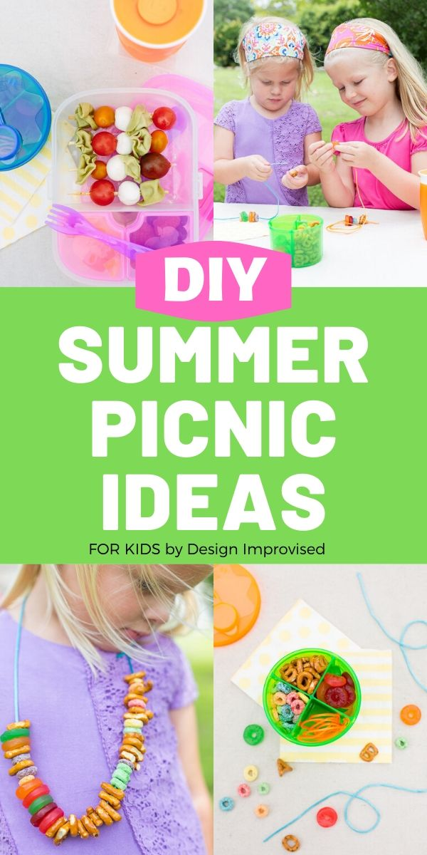 Summer Picnic Food Ideas for Kids / Children