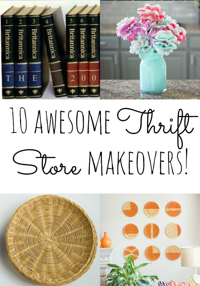 Top 10 thrift store makeover projects