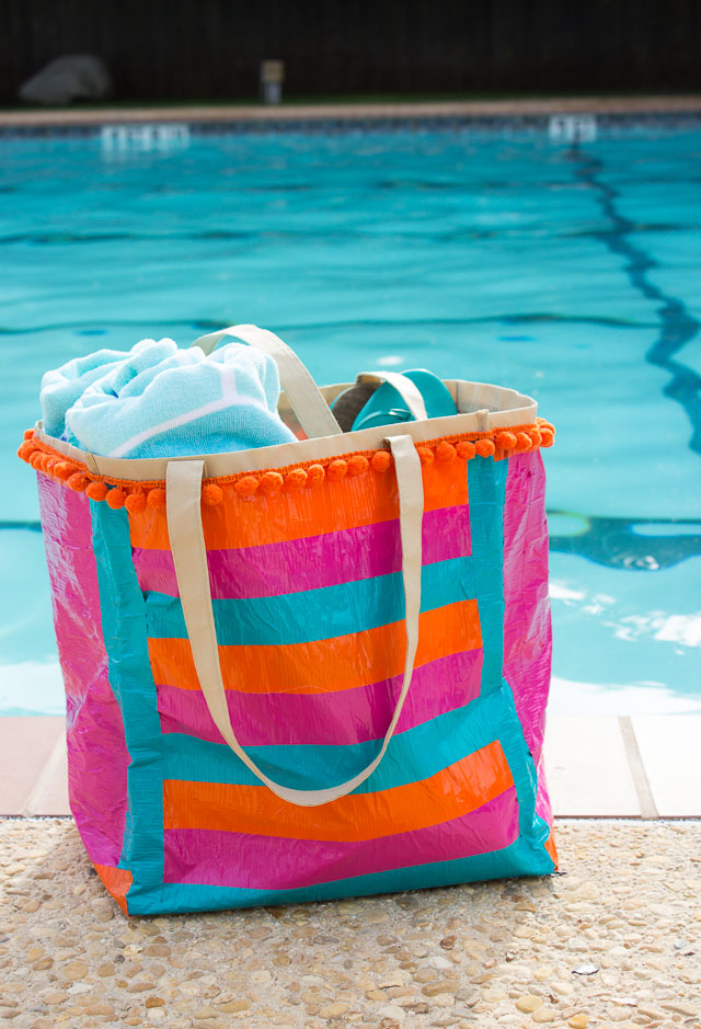 How to make a pool bag