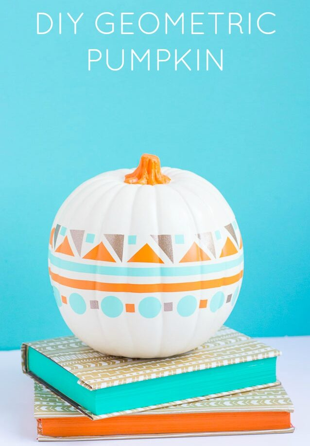 How to Decorate a Pumpkin with Vinyl