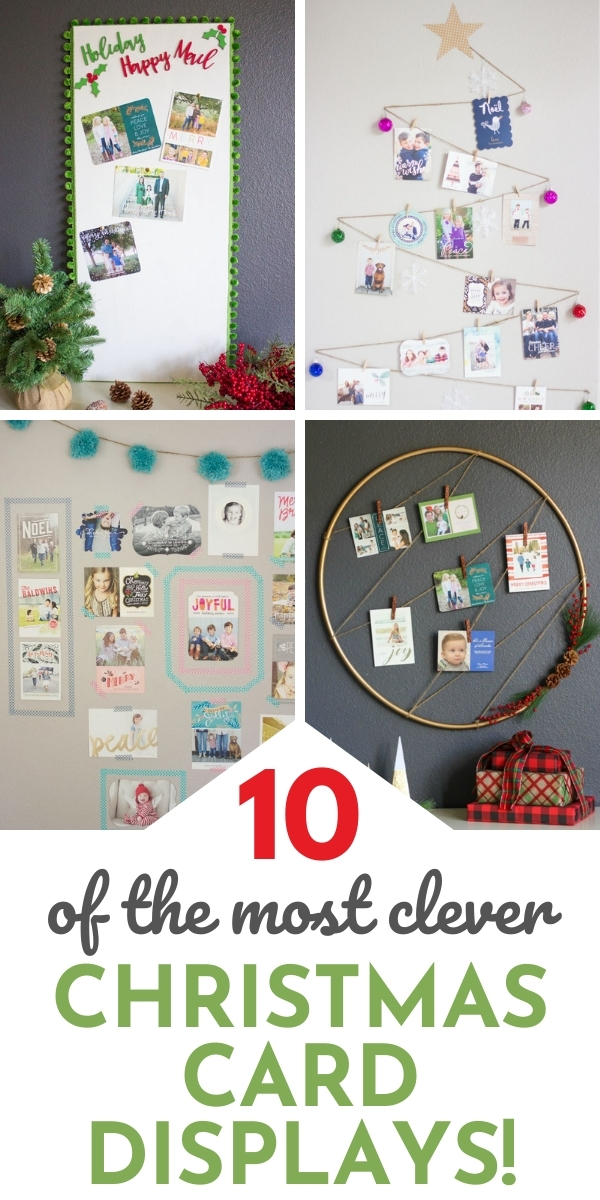 10 best Christmas card display ideas