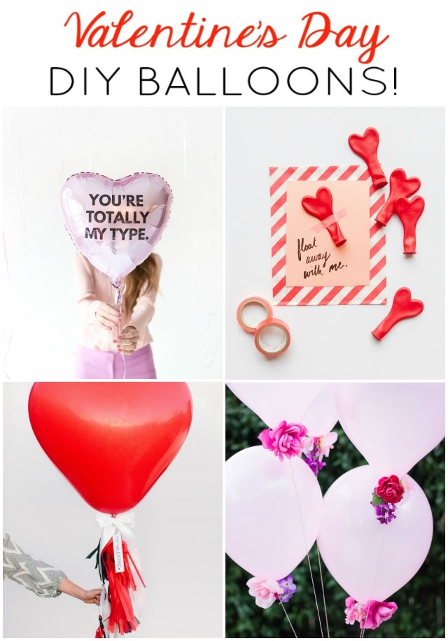 10 DIY Valentine's Day Balloons That are Better Than Roses!