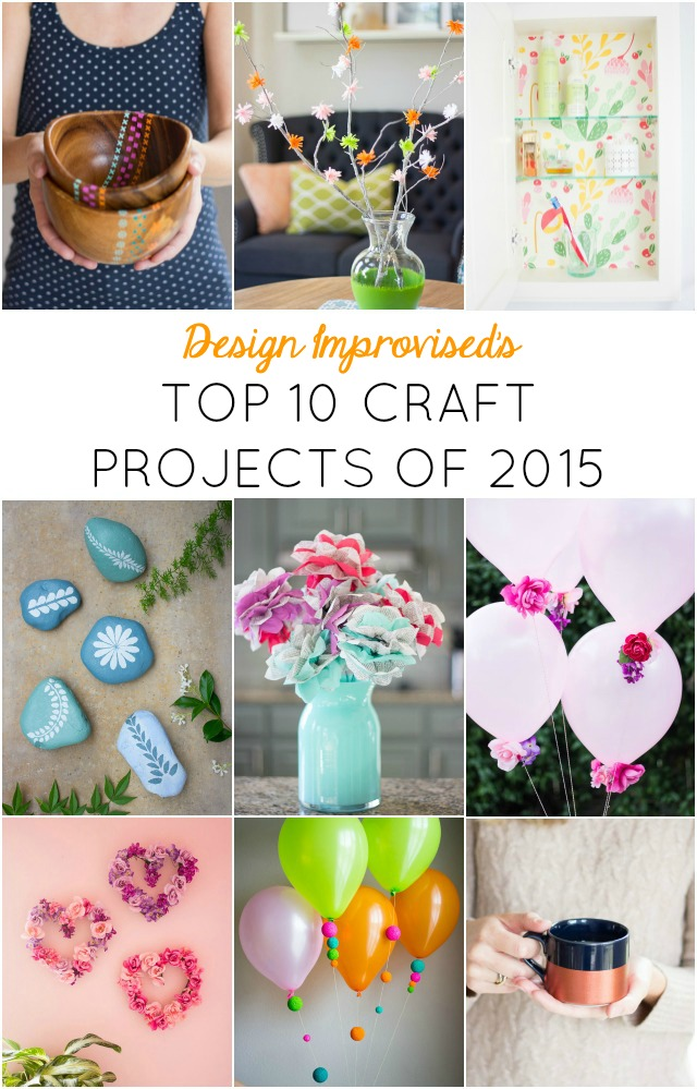 10 simple craft projects that make a big impact!