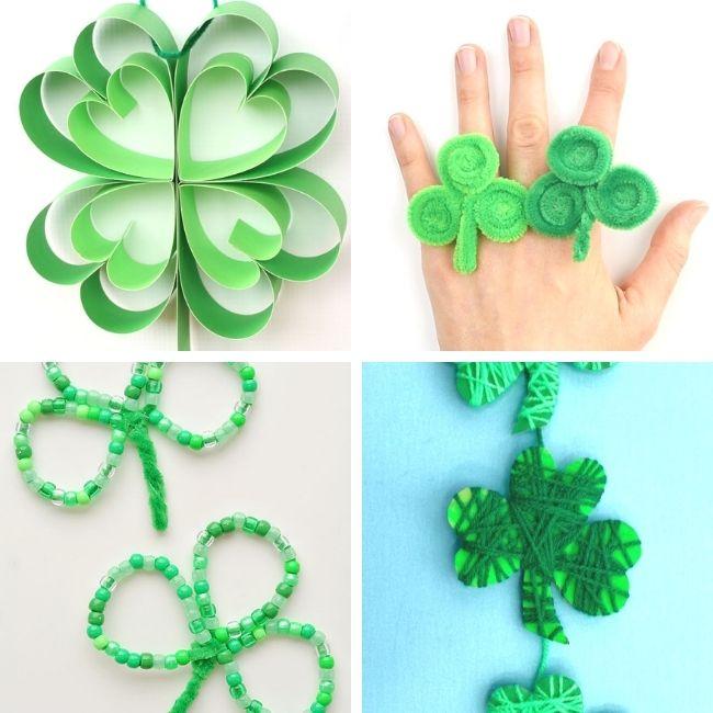 Shamrock craft ideas for kids