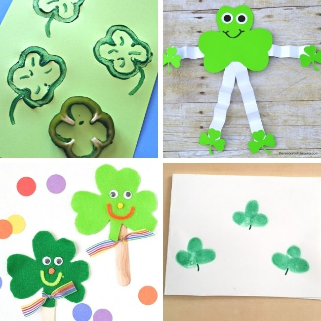 Shamrock craft ideas for toddlers