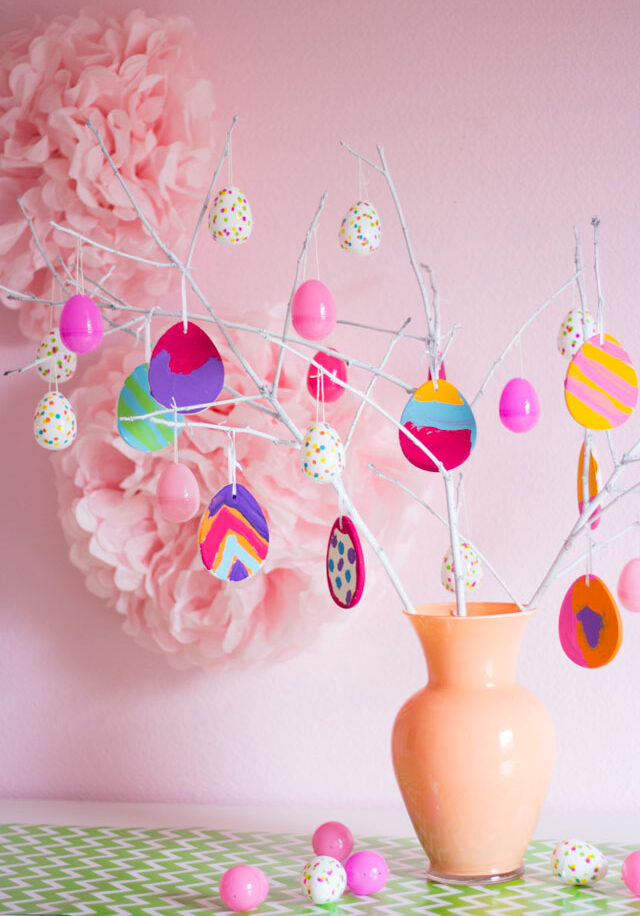 Make an Easter Egg Tree