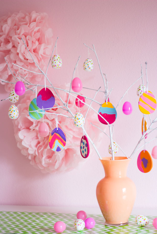 How to make your own Easter egg tree!